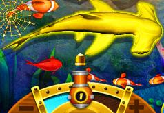 игра ловить акулу