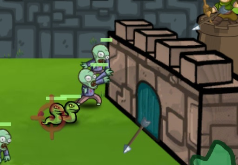 Игры Спасаемся от зомби