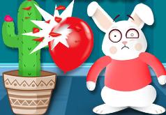 игры зайчики и шарики