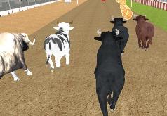 Игры Взрывоопасная гонка быков