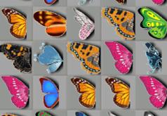 игра маджонг соедини бабочек