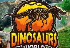 Игра Мировые динозавры скрытые числа