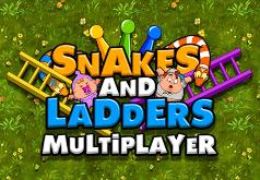 игра змейки лестницы
