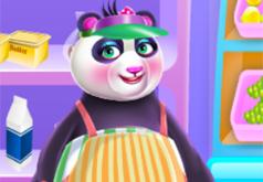 игра ресторан малыша панды