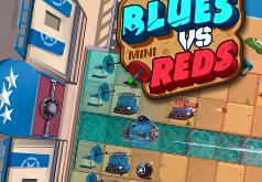 игры роботы красный синий
