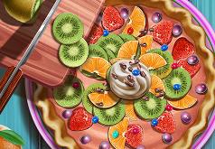 Игры Повар готовит фруктовый торт