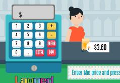 игры для девочек супермаркет продуктов касса