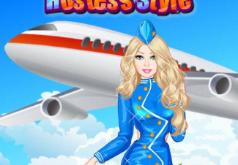 Стюардесса Игры Барби для девочек
