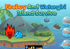 Игра Огонь и Вода: Выжить на Острове 2