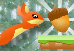Игры Белка собирает в лесу орехи