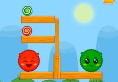 Игры Зелёные и красные блоки