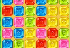 Игры Драгоценные камни три в ряд