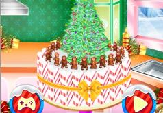 Игра Новогодний торт малыша
