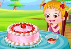 игры вкуснейший клубничный десерт