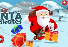Игра Санта на Коньках
