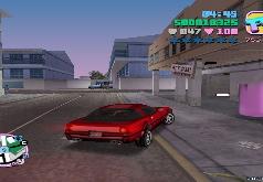 Игра ГТА: Вай Сити - Вождение