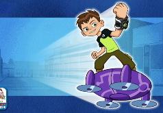 Игра Бен 10: Опасный Полет