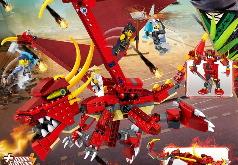 Игра Лего Ниндзяго: Земля Драконов