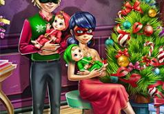 Игра Семейное Рождество Леди Баг