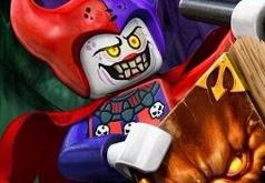 Игра Лего рыцари с щитами комбо