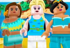Игра Лего: Принцессы Диснея