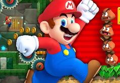 Игра Марио беги и стреляй