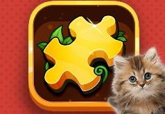 Игра Пазлы с Котиками