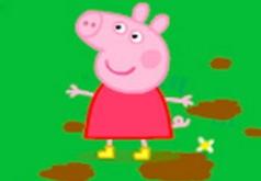 Игры Свинка Пеппа Прыжки по деревьям