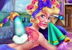 Игры Принцесса Аврора украшает спальню