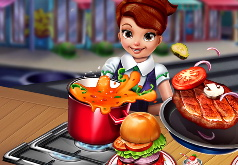 Игра Готовим Быстро: Сосиски и Гамбургеры