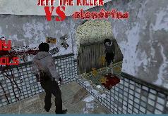 Игра Убийца Джефф Против Слендрины