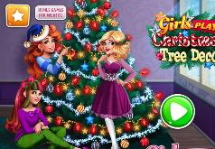 игры укрась новогоднюю елку