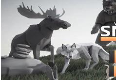 Игра Симулятор Охоты на Животных 3Д