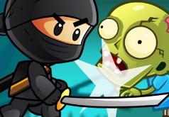 Игра Ниндзя Пацан Против Зомби