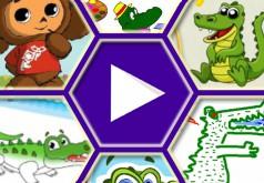 Игры крокодил гена и чебурашка