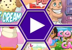 игры пиццерия папы луи мороженое