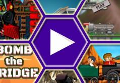 Игры для поезда строить мосты