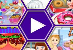 игры для девочек папа луи пончики