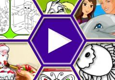 игры для девочек раскраски барбоскины