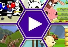 игры супер корова без времени