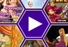 игры принцессы диснея бродилки рапунцель